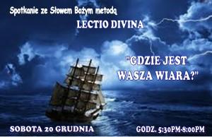 LECTIO DIVINA - GRUDZIEŃ 2014