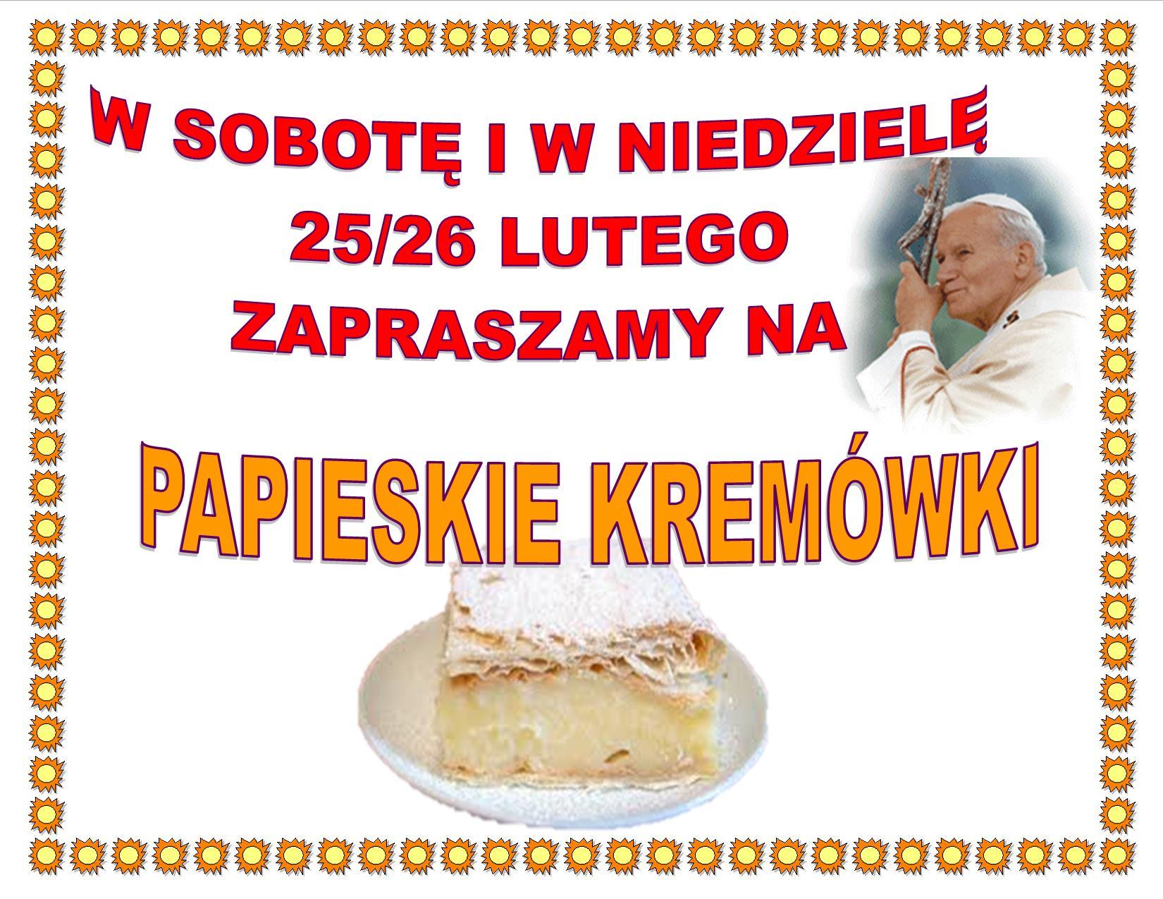 PAPIESKIE KREMOWKI-2017
