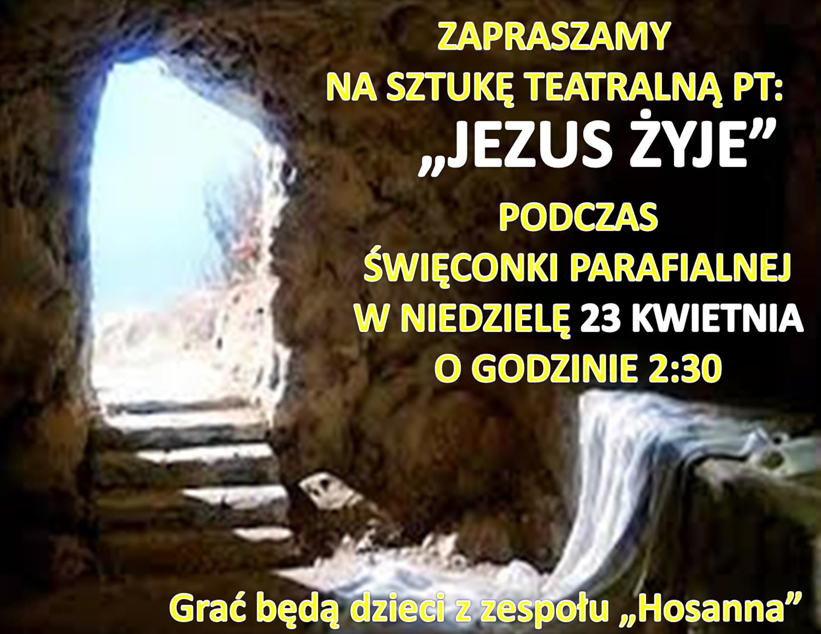 SZTUKA- JEZUS ZYJE -KATECHEZA
